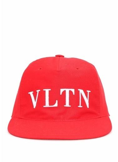 Valentino Şapka Kırmızı